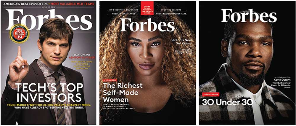 طرح روی جلد مجله فوربس آمریکا