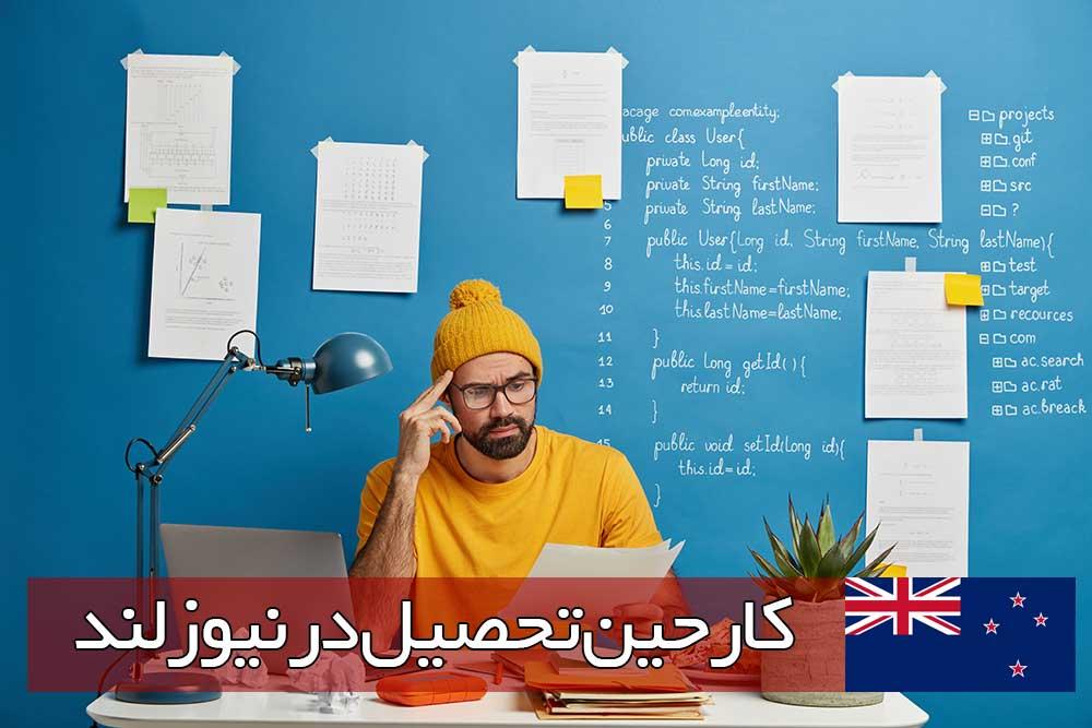 کار حین تحصیل در نیوزلند
