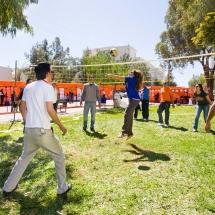 بازی دانشجویان در دانشگاه قبرس