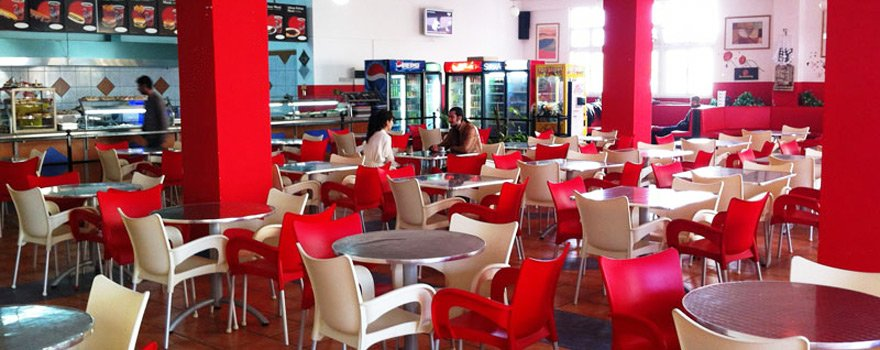 رستوران ها و کافه تریاهای دانشگاه emu