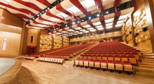 سالن کنفرانس دانشگاه قبرس