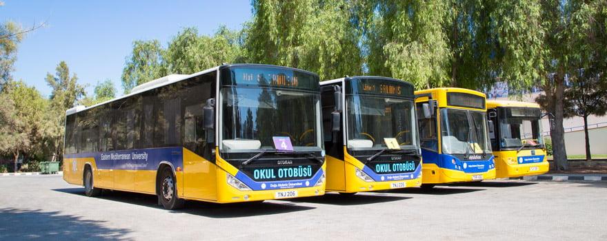 سیستم حمل و نقل دانشگاه قبرس
