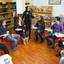 کلاس درس زبانهای خارجی دانشگاه قبرس