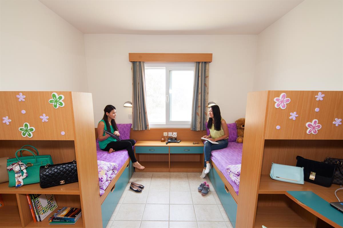 اتاق خوابگاه Akdeniz در دانشگاه قبرس