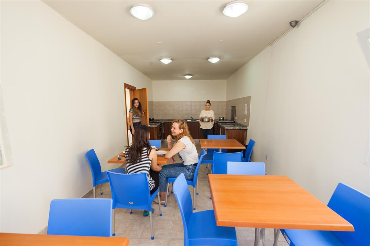 اتاق مطالعه خوابگاه Akdeniz در دانشگاه قبرس