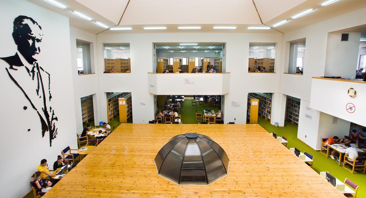 کتابخانه دانشگاه EMU