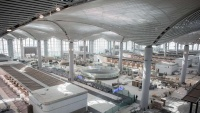 فضای داخلی فرودگاه جدید استانبول