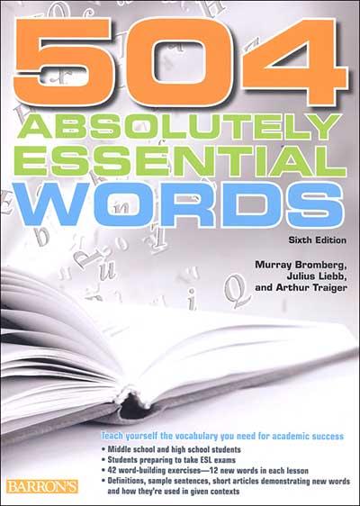 کتاب 504 واژه زبان انگلیسی