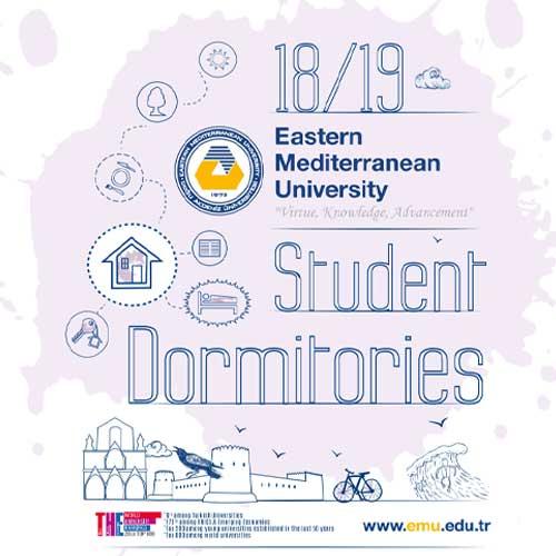 خوابگاه های دانشگاه مدیترانه شرقی